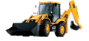Picture of a JCB excavator